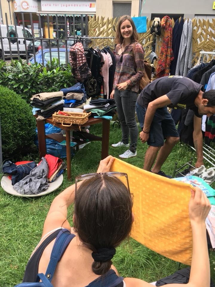 Flowmarkt des Café Exodus und DAJC lässt Johannesgarten aufleben